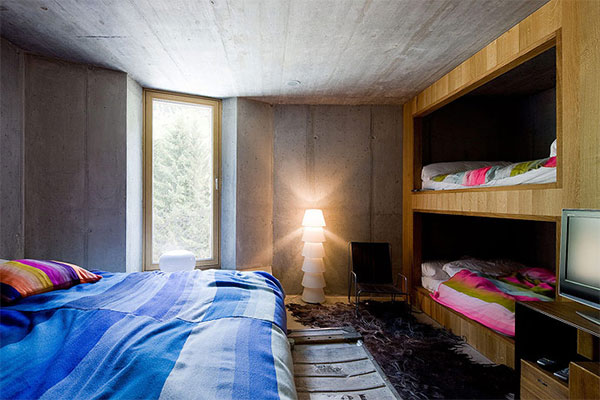 Underground Classic home in Switzerland....Wow!