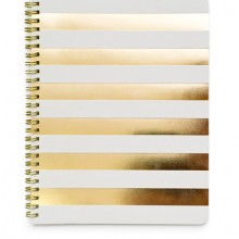 Gold Stripe Notebook