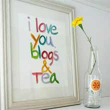 Blogs and Tea