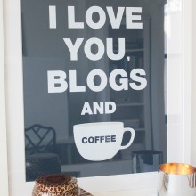 Blogs and Coffee - Navy