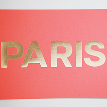 PARIS Coral+Gold