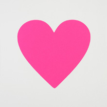 Hot Pink Heart (Small)
