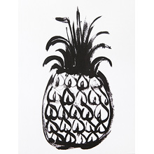 Black Pineapple 8x10
