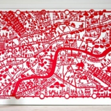 London Map Red