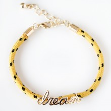 Dream Rope Bracelet (yellow)