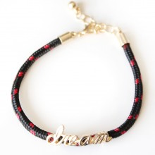 Dream Rope Bracelet (black)
