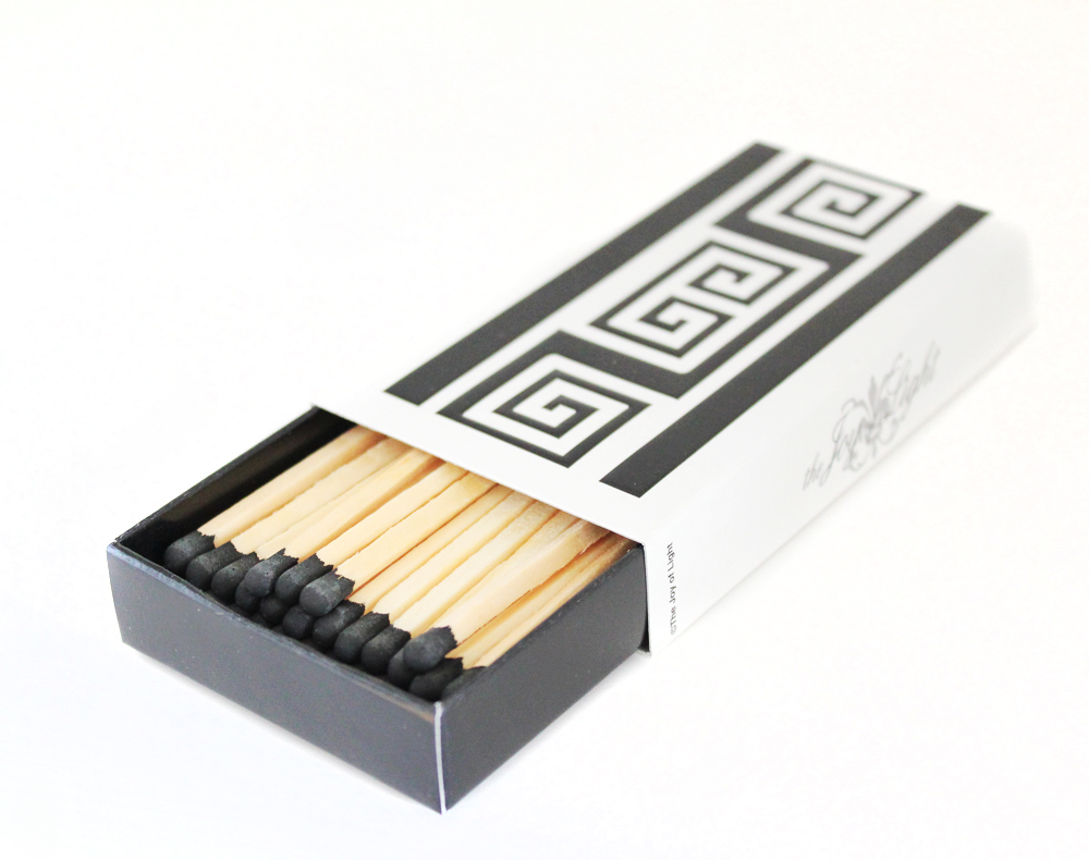 GREEK KEY MATCHBOX