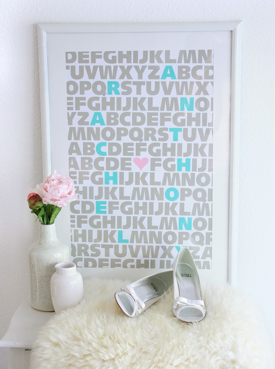 TIFFANY BLUE WEDDING PRINT