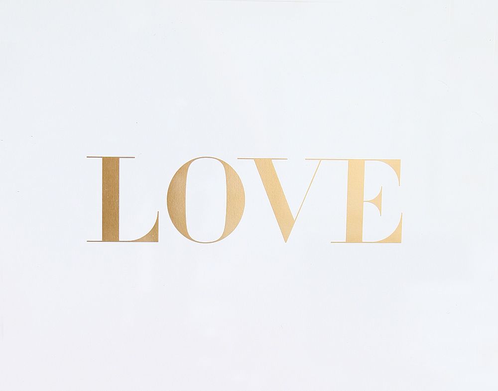 LOVE IN VOGUE PRINT